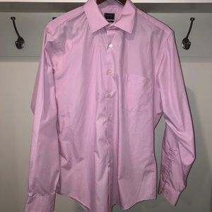 Arrow pink button down size 16 34/35